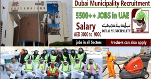 Who is eligible for employment in Dubai municipality?